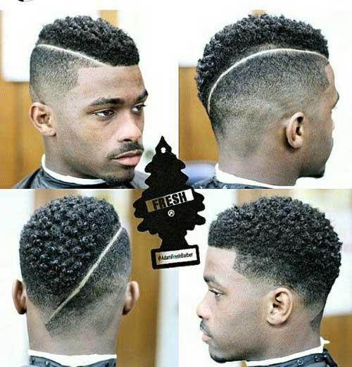 Black Male Fade Haircuts Idea
