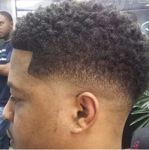 Black Male Fade Hairstyles Side View