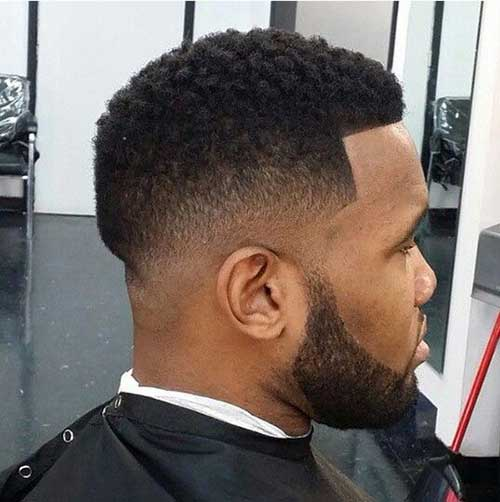 Black Man Fade Haircut