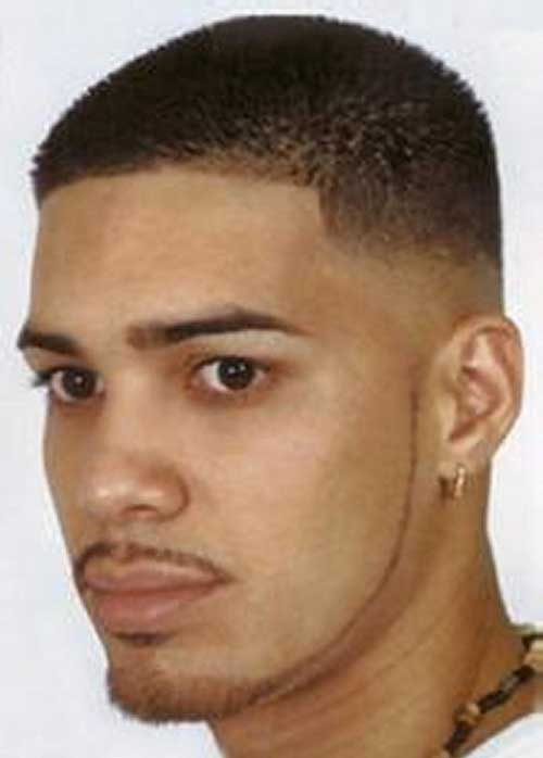 Black Men Taper Faded Cut Style