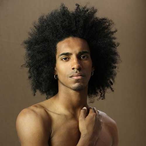 Black Mens Short Curly Hairstyles
