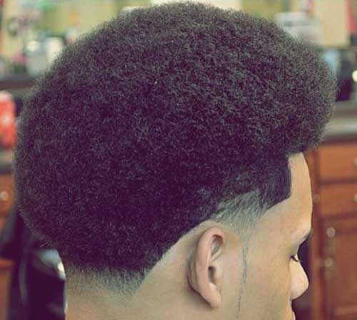 Black Mens Short Cut Curly Hairstyles