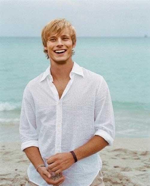 Incredible 20 Guys With Blonde Hair Mens Hairstyles 2016 Hairstyles For Women Draintrainus