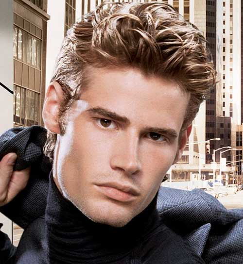 Mens Hairstyles For Thick Wavy Hair The Best Mens Hairstyles Haircuts