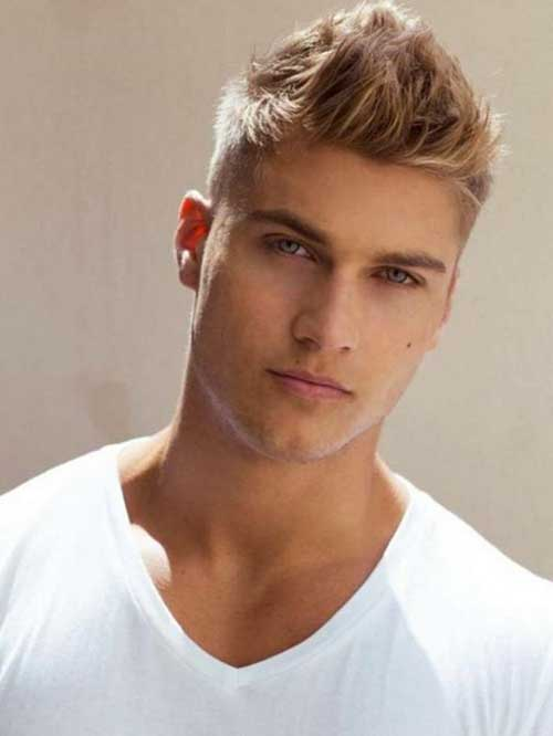 Boys Blonde Hair Cut Style Ideas