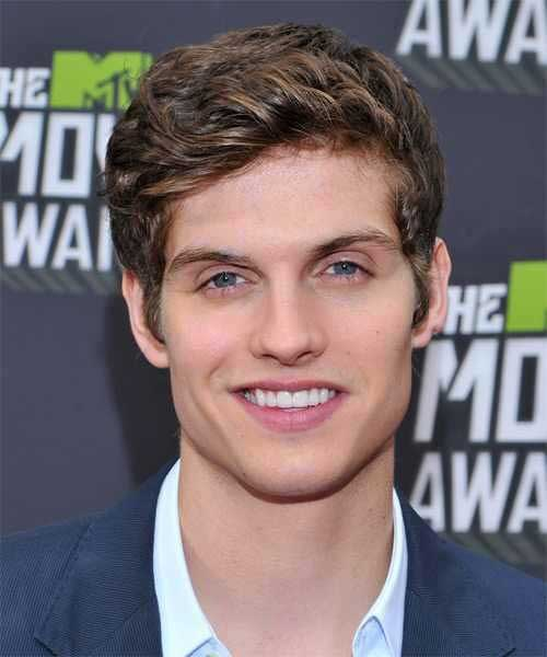 Celebrity Mens Brown Hairstyles 2014