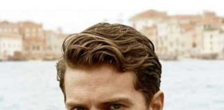 Classic Men Brown Hairstyle