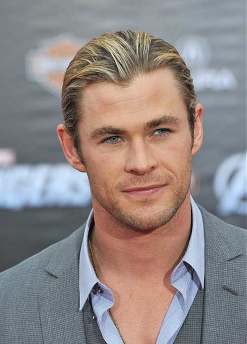Classic Ponytail Hairstyles for Men
