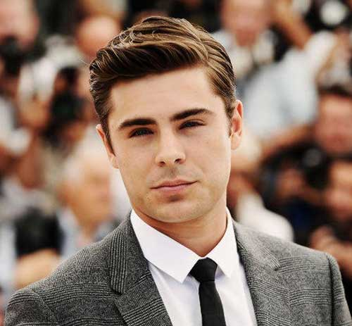 Classy Hairstyles for Round Face Shapes Men