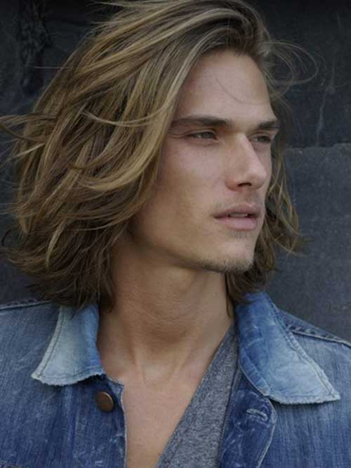 Magnificent Guys With Long Blonde Hair Mens Hairstyles 2016 Short Hairstyles Gunalazisus