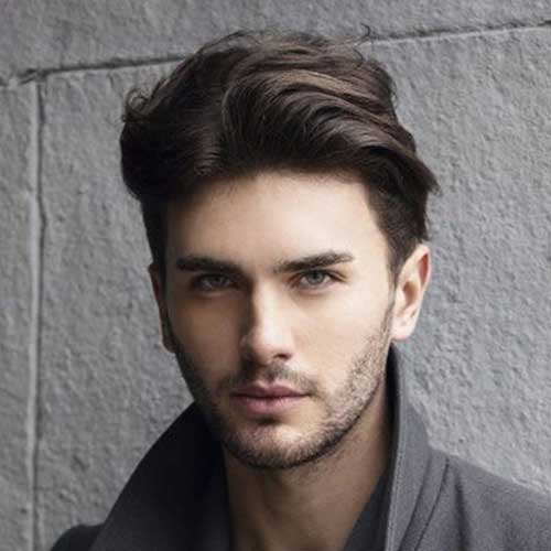 Cool Men Straight Haircuts Ideas