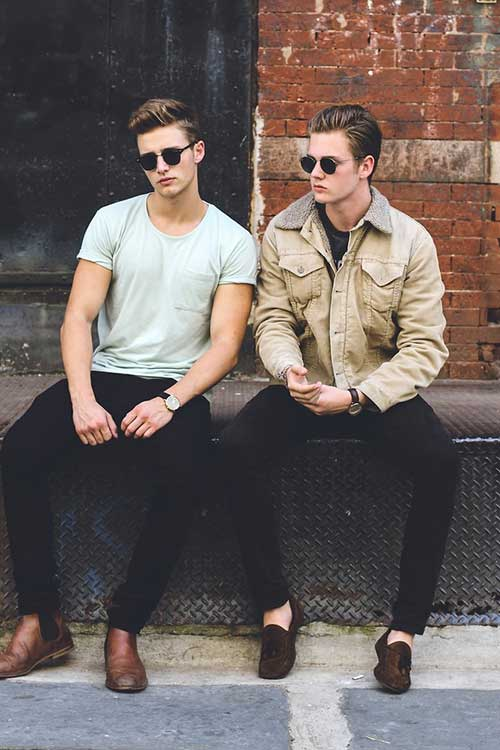 Cool Men Street Style Haircuts