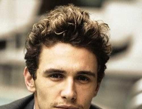 Curly Guy Short Hair