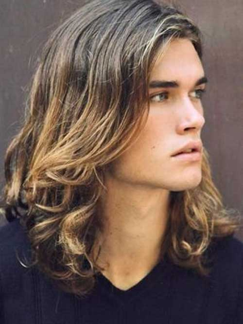Curly Long Haircuts for Guys