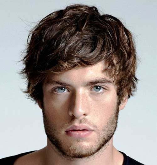 Curly Thin Hairstyles for Guys
