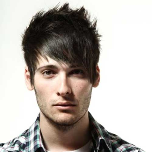 Dark Punk Hairstyles for Guys