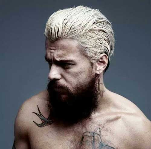 Different Blonde Hair Style Ideas for Men
