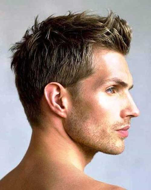 Different Brown Hair Cut Style for Men