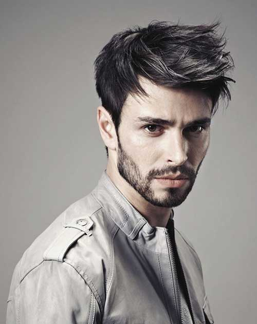 Different Short Cut Spiky Style Ideas for Men