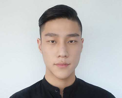 Different Side Swept Cut Style for Men