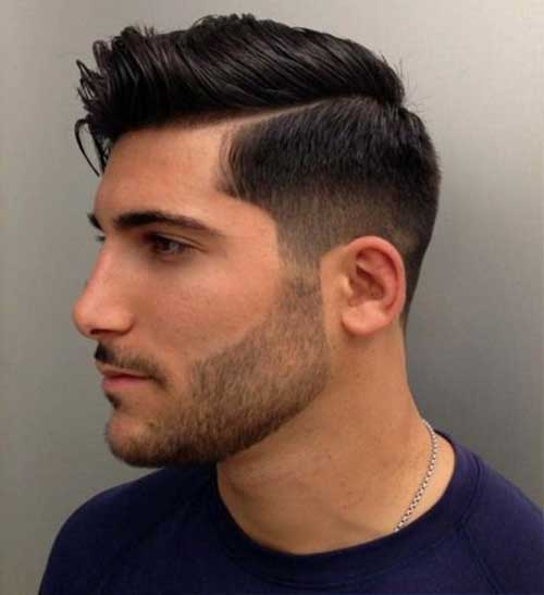European Men Fade Hairstyles