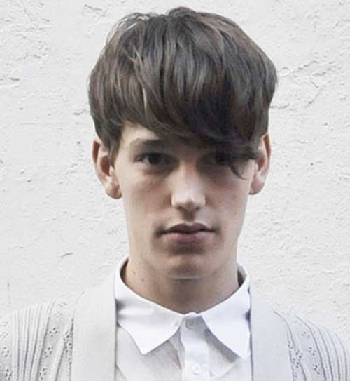 European Men Thick Hairstyles