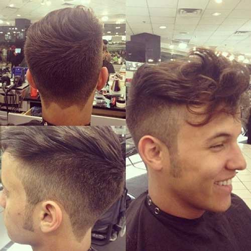 Astounding 15 New Funky Hairstyles For Boys Mens Hairstyles 2016 Short Hairstyles For Black Women Fulllsitofus