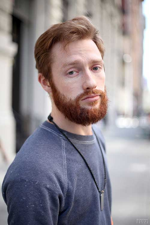 Good Men Ginger Hairstyles