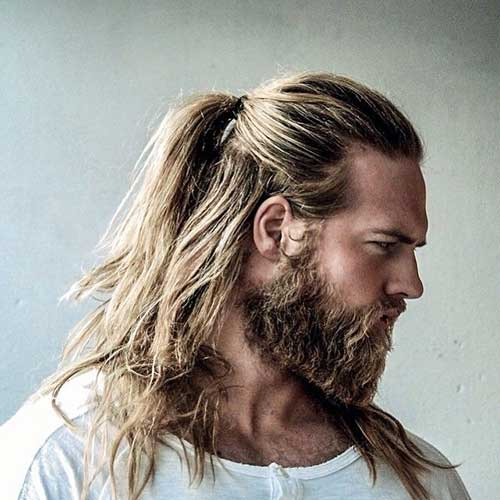 Guy with Long Blonde Hair Ideas