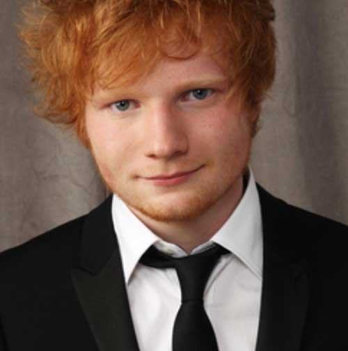 Guys with Ginger Red Hair Color