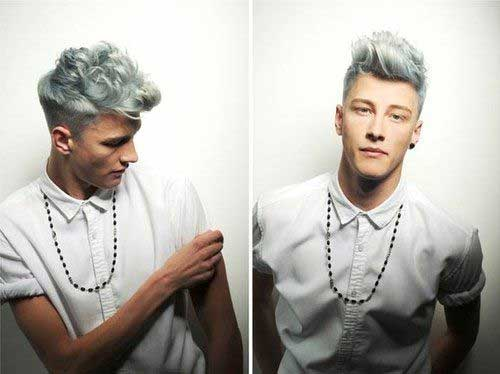 15 Guys With Blue Hair Mens Hairstyles 2018