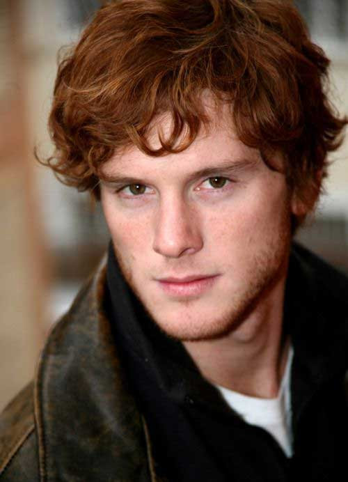 Guys with Red Curly Hair Ideas