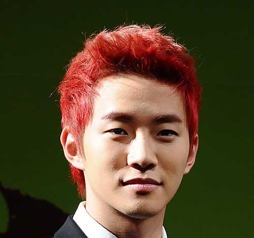 Guys with Short Red Hair Idea