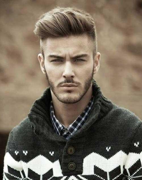 Pompadour Hair Boy Style