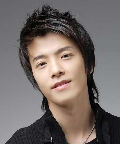 Japanese Straight Spiky Hair Ideas for Men