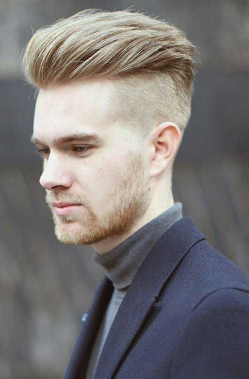 Latest Undercut Hair Style for Men