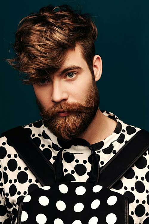 Layered On Top Hairstyles for Men