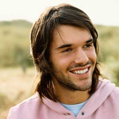 Long Layered Haired Guy Ideas