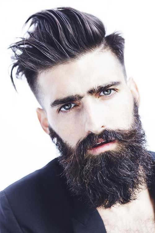 Long Top Hair Cut Styles for Men