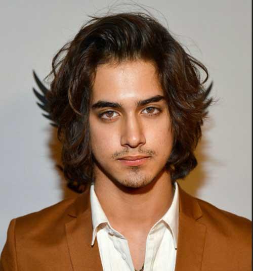 Long Wavy Hair for Guys Ideas