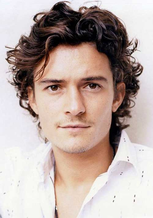 Wondrous Male Celebrities With Curly Hair Mens Hairstyles 2016 Hairstyle Inspiration Daily Dogsangcom