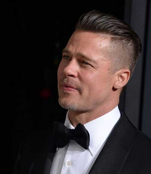 Male Celebrity Side Shaved Hairstyle Ideas 2014