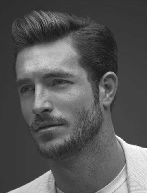 Men Casual Dark Hair Cuts