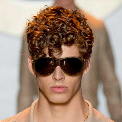 Men Curly Hairstyles 2015