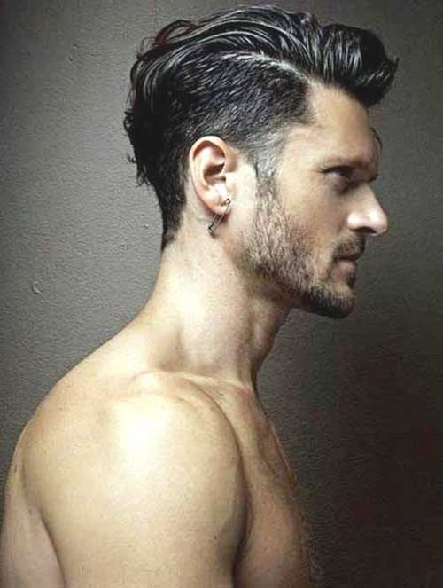 Men Dark Haircuts 2015