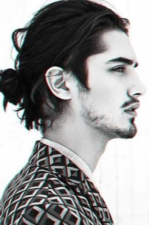 Men Bun Hairstyle