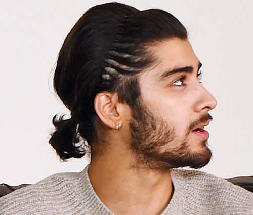 Men Ponytail Hairstyles with Headband