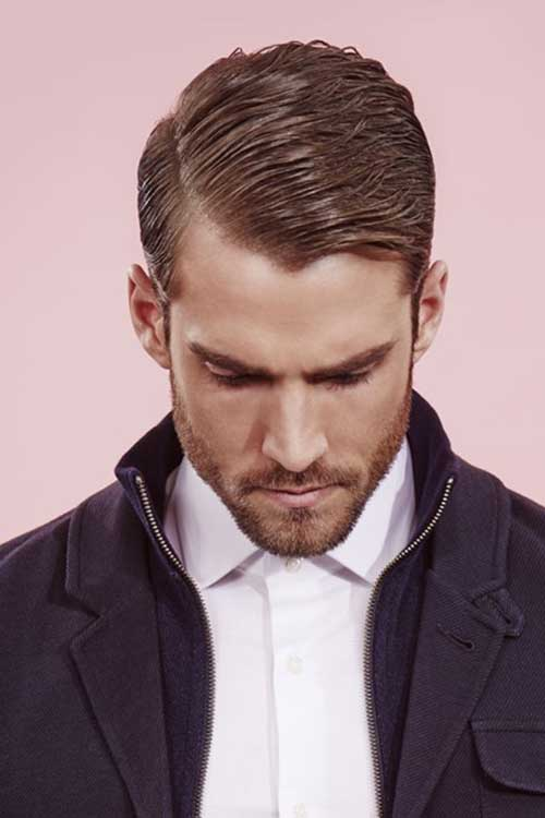 Men Side Swept Hairstyles 2015
