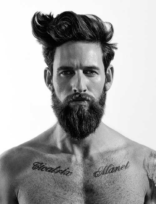 Men Stylish Messy Hairstyles 2015