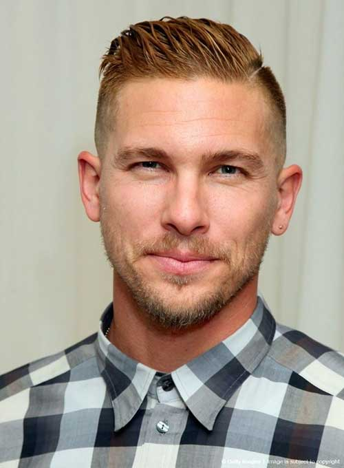 Mens Casual Hair Idea with Short Sides Long Top
